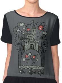 Lust & Lewdness Inducing Vicious Medieval Carnage Chiffon Top