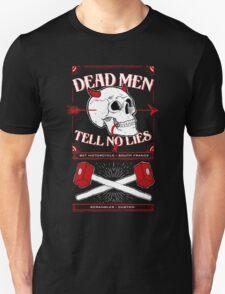 Dead men tell no lies Unisex T-Shirt