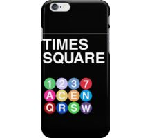Time Square iPhone Case/Skin