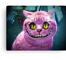We're All Mad Here! Canvas Print