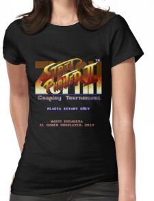 Super Street Fighter II - SNES Womens Fitted T-Shirt