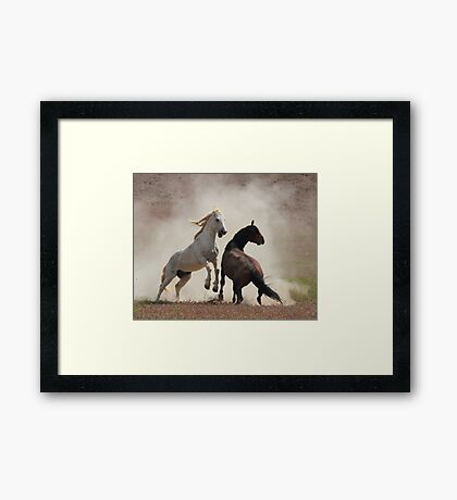 Dirty Business Framed Print