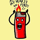my head is on Fire by Jonah Block