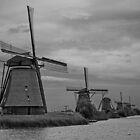 Kinderdijk (2) by eddiechui