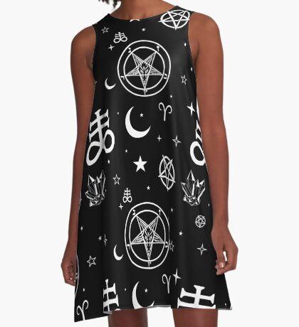 Symbols A-Line Dress