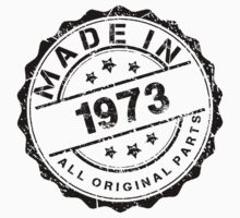 MADE IN 1973 ALL ORIGINAL PARTS by smrdesign