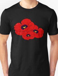 Poppy White T-Shirt