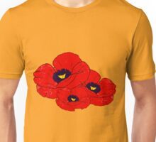 Poppy Yellow Unisex T-Shirt