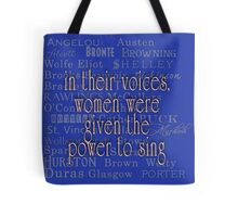 Women Authors Who Came Before Us Tote Bag