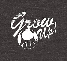 Mario, Mushroom, Grow Up! Unisex T-Shirt