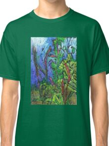 Reeds and Grass, Otmoor Nature Reserve, Classic T-Shirt