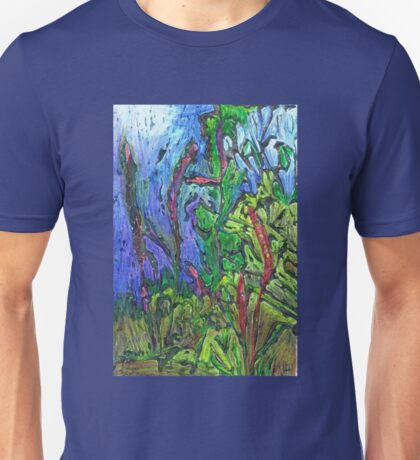 Reeds and Grass, Otmoor Nature Reserve, Unisex T-Shirt