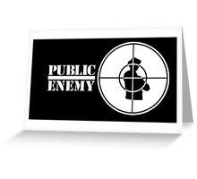 Public Enemy Greeting Card