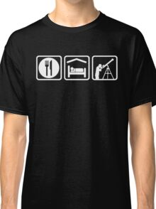 Funny Eat Sleep Astronomy Classic T-Shirt