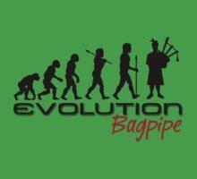 Bagpipe Evolution Kids Tee