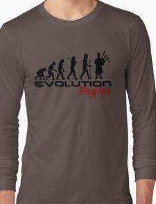 Bagpipe Evolution Long Sleeve T-Shirt
