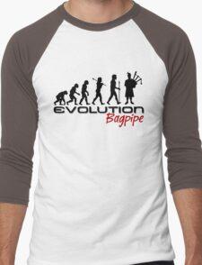 Bagpipe Evolution Men's Baseball ¾ T-Shirt