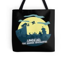 Undead, The Zombie Apocalypse (ET Spoof) Tote Bag