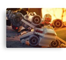 X-Wing vs TIE Fighter Canvas Print
