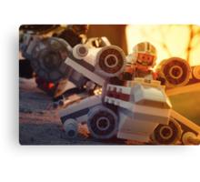 X-Wing vs TIE Fighter Canvas Print