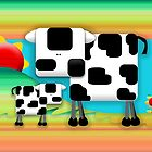 Moo Cow Sunrise Family by © Karin (Cassidy) Taylor