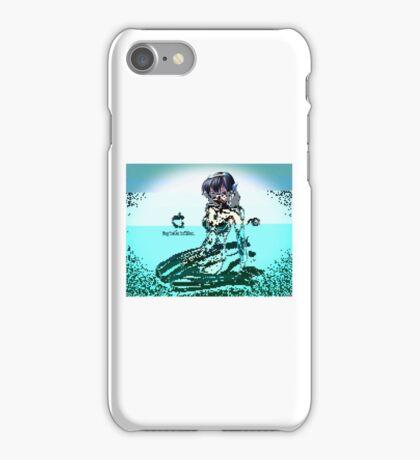 Apple iMac Girl Mascot (Glitch v.1) iPhone Case/Skin