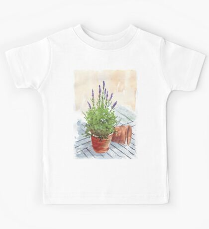 Lavender in a pot Kids Tee