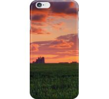 Sunset over Whitby Abbey iPhone Case/Skin