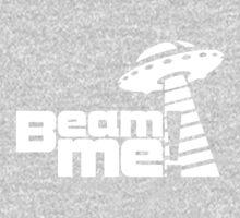 Beam me up V.3.1 (white) One Piece - Long Sleeve