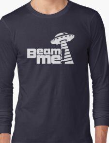 Beam me up V.3.1 (white) Long Sleeve T-Shirt
