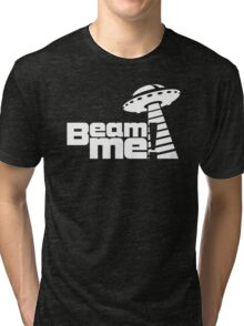 Beam me up V.3.1 (white) Tri-blend T-Shirt