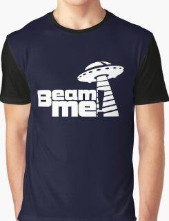 Beam me up V.3.1 (white) Graphic T-Shirt