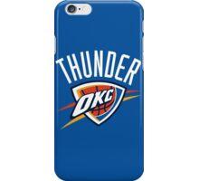 Oklahoma City Thunder 3 iPhone Case/Skin
