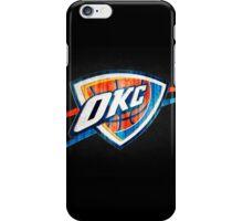 Oklahoma City Thunder 4 iPhone Case/Skin