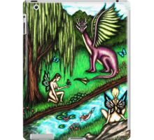 Faerie Realm of the Dragon King iPad Case/Skin
