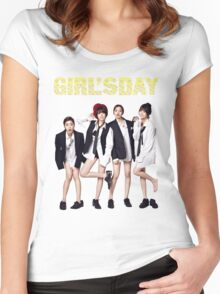 Girl's Day Kpop  Women's Fitted Scoop T-Shirt
