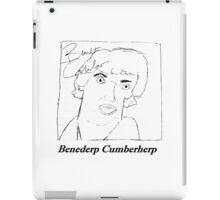 Benederp Cumberherp iPad Case/Skin