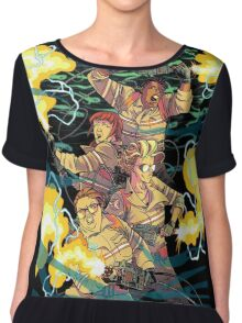 Ghostbusters in action Chiffon Top