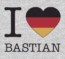 I ♥ BASTIAN Baby Tee
