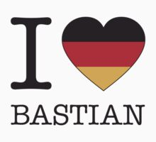 I ♥ BASTIAN One Piece - Short Sleeve