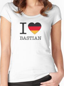 I ♥ BASTIAN Women's Fitted Scoop T-Shirt
