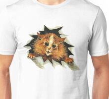 "Louis Wain (1860-1939) - ""Cat In The Ice"" Unisex T-Shirt"
