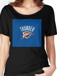 Oklahoma City Thunder 3 Women's Relaxed Fit T-Shirt