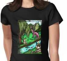 Faerie Realm of the Dragon King Womens Fitted T-Shirt