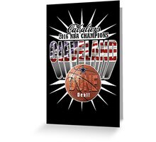 cleveland champions Greeting Card