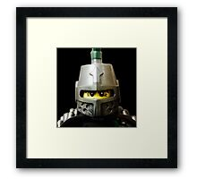 Frightening Knight Framed Print