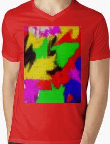 oil pastel Mens V-Neck T-Shirt