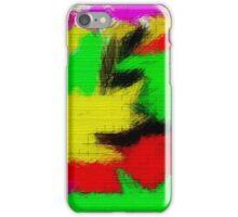 oil pastel iPhone Case/Skin