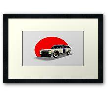 Shakotan Wagon Framed Print