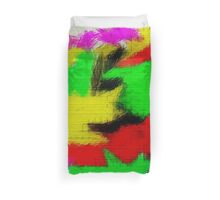 oil pastel Duvet Cover